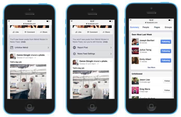 خوراک خبری دوستان در فیس بوک