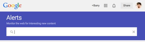 گوگل رابط جدید Google Alerts را راه اندازی کرد