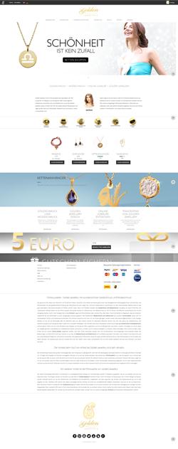 طراحی سایت فروشگاهی گالری جواهرات