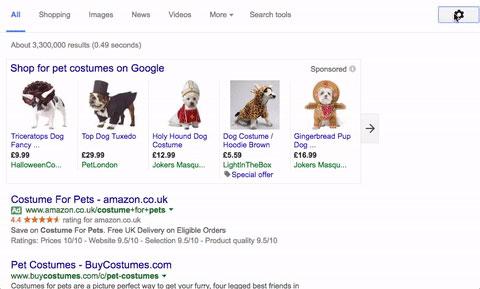 صفحه بندی نتایج گوگل